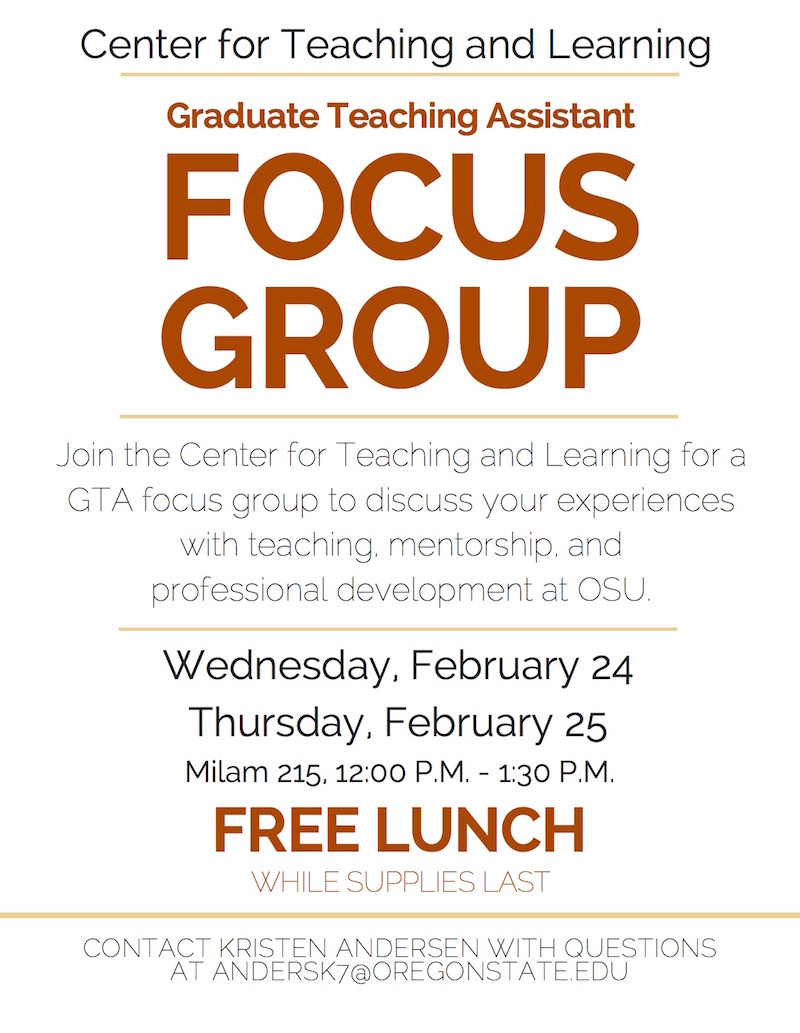 focus group details