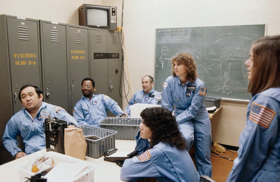 McNair at NASA