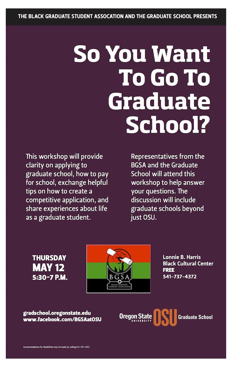 so you want to go to graduate school graduate school oregon dates and location