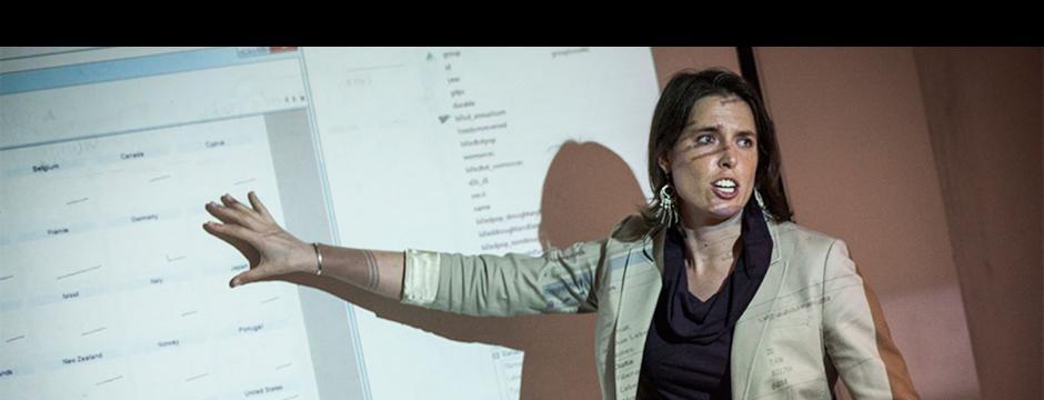 Alison Johnson teaching