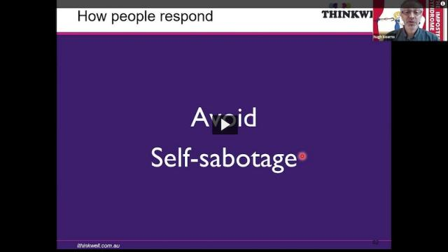Hugh Kearns Imposter Syndrome thumbail slide from presentation